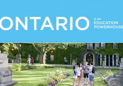 Ontario is an education powerhouse