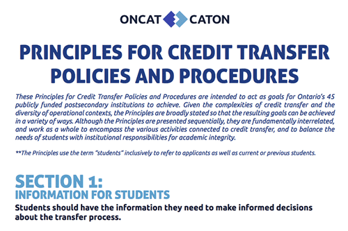 Oncat-Credit-Transfer