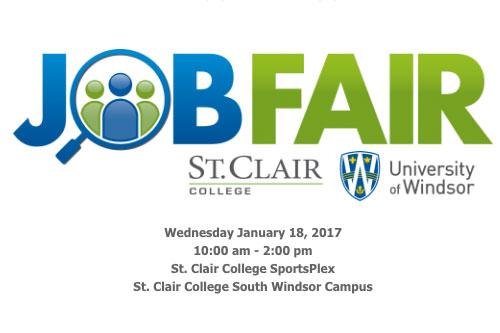 Joint Job Fair in Windsor