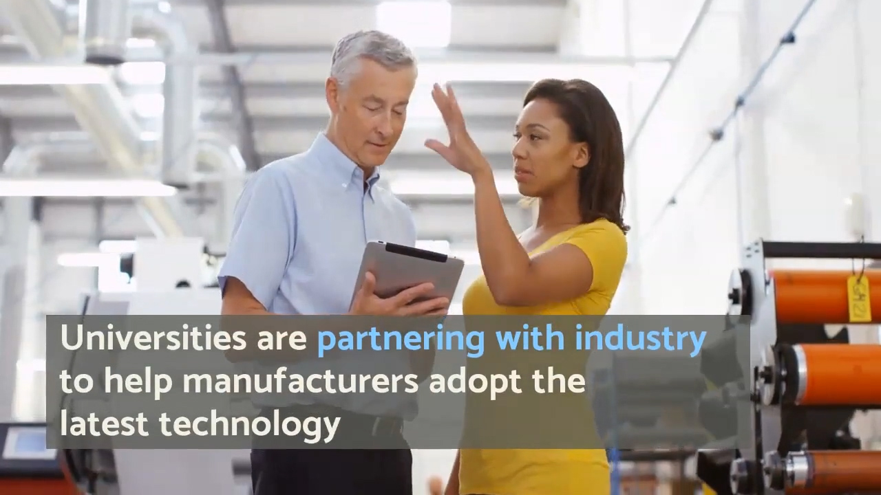 Partnering for Advanced Manufacturing