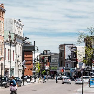 Downtown Kingston, Ontario