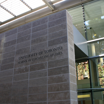 University of Toronto School of Continuing Studies building