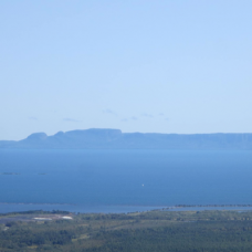 This photo of the Sleeping Giant showcases the unique characteristics of life in Northern Ontario.