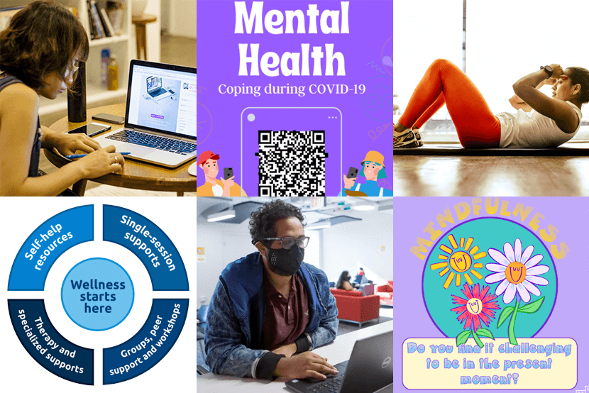 Mental Health and Wellness Banner