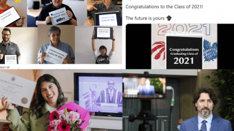 Convocation 2021 collage